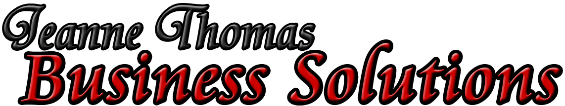 Jeanne Thomas Business Solutions | Corsicana, Texas